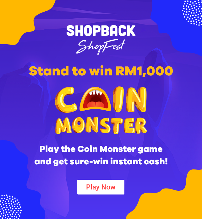 ShopBack ShopFest Coin Monster