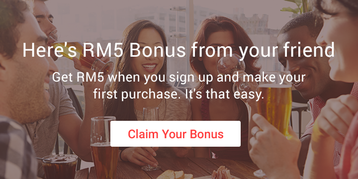 Here's a RM10 Bonus From Your Friend