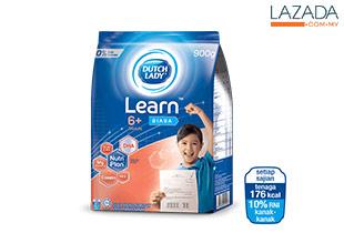 Dutch Lady Learn™ (6+) Plain 900g