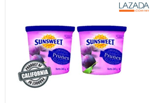 Sunsweet Pitted Prunes 340g (2 Packs)