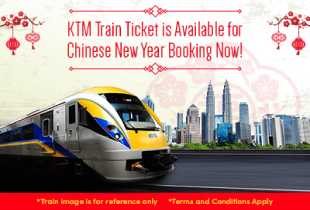 Book KTM Train for Your Chinese New Year Trips Now!