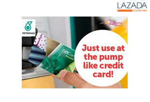 RM95 for PETRONAS Gift Card (Reloadable) worth RM100