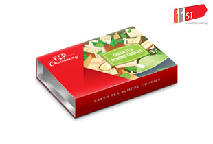 KITKAT Chocolatory - Green Tea Almond Cookie Special Edition