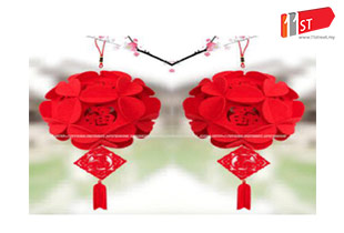 Chinese New Year Huat Huat 88 CNY Hanging Decoration
