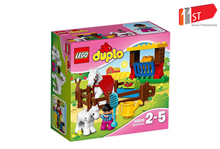 LEGO Duplo 10806 - Horses / Building Block for Younger Kids