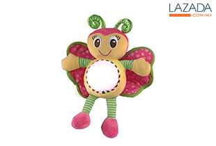 Playgro 0182616 Snuggle N Shine Friends Butterfly