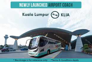 Easybook Promo: Travel to & from KLIA with Airport Coach