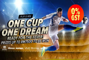 Lazada World Cup Promo: Play & Win! Up to RM7,500 to be won!
