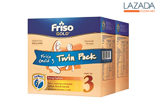 FRISO GOLD 3 1.2KG TWIN PACK