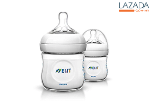 Philips Avent Bottle Natural 4oz / 125ml - Twin Pack