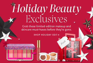 Sephora Promotion: Holiday Beauty Exclusives - Grab limited edition makeup & skincare products! Limited time only.