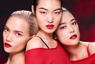 Hermo Deal: Shu Uemura new shades for unlimited supreme matte + get free Shu Uemura Black Chic Mirror with any 2 lipsticks.