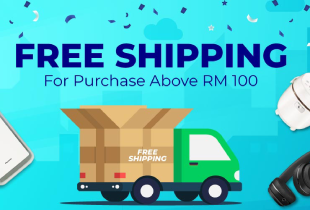Senheng Deal: Free shipping for purchase above RM100.