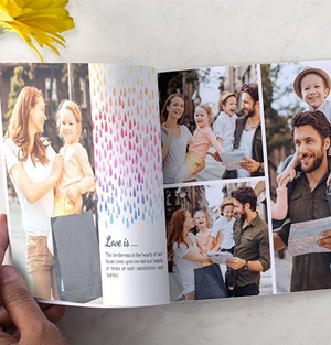 """Get a Free 6"""" x 6"""" Softcover Photo Book"""