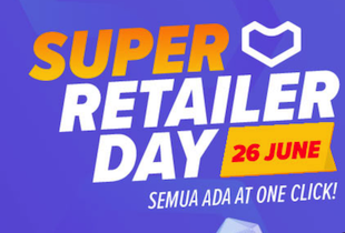 [App Only] Enjoy up to 12.5% Upsized Cashback on Super Retailer Day products listed on the page!
